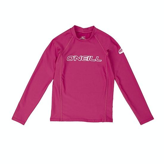 Licra Girls O'Neill Basic Skins Long Sleeve Crew