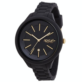 Rip Curl Alana Horizon Silicone Womens Watch - Black