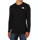 North Face Easy Langarm-T-Shirt