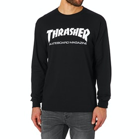 Thrasher Skate Mag Long Sleeve T-Shirt - Black