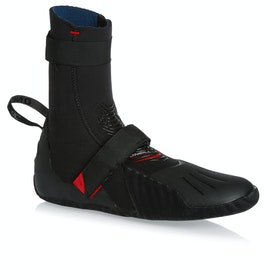 O'Neill Heat 5mm Round Toe Wetsuit Boots - Black
