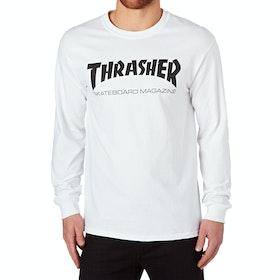 Thrasher Skate Mag Long Sleeve T-Shirt - White