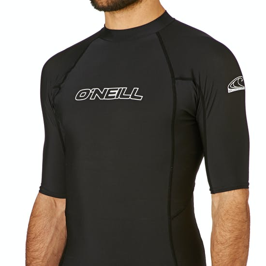 O'Neill Basic Skins Short Sleeve Crew Rash Vest