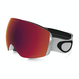 Oakley Flight Deck Snow Goggles - Matte White ~ Prizm Torch Iridium