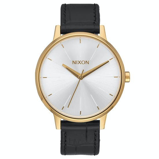 Nixon Kensington Leather Ladies Watch