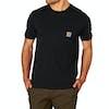 T-Shirt à Manche Courte Carhartt Pocket - Black