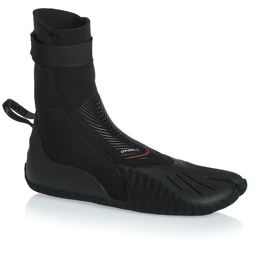 O Neill Heat 3mm Split Toe Wetsuit Boots