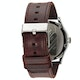 Nixon Sentry Leather Horloge