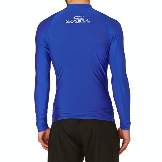 O'Neill Basic Skins Long Sleeve Crew Rash Vest
