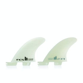 FCS II Carver Performance Glass Quad Rear Fin - Natural
