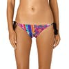 Seafolly Mexican Tie Side Bikini Bottoms - Pink Multi