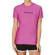 O Neill Basic Skins Short Sleeve Crew Ladies Surf T-Shirt