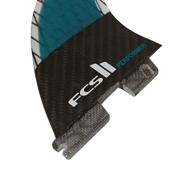 FCS II SUP Performer Performance Core Carbon Quad Fin