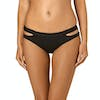 Seafolly Active Split Band Hipster Bikini Bottoms - Black