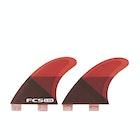 FCS GXQ Performance Core Quad Rear Fin