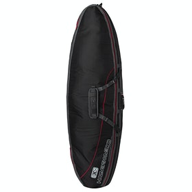 Ocean and Earth Double Compact Shortboard Surfboard Bag - Black