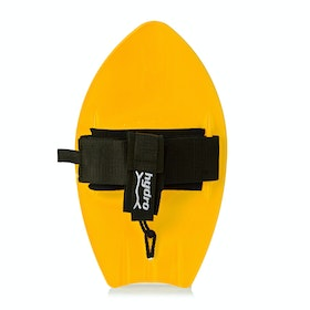 Hydro Body Surfer Pro 6 Pack Hand Plane - Yellow