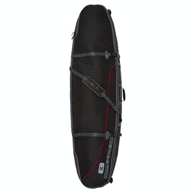 Ocean and Earth Double Coffin Shortboard Surfboard Bag - Black