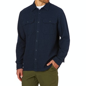 Chemise Patagonia Fjord Flannel - Navy Blue