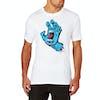 T-Shirt a Manica Corta Santa Cruz Screaming Hand - White