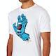 T-Shirt à Manche Courte Santa Cruz Screaming Hand