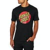 T-Shirt à Manche Courte Santa Cruz Classic Dot - Black