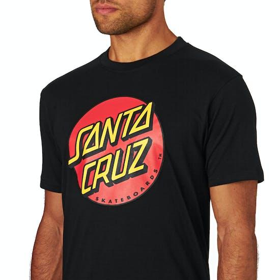T-Shirt a Manica Corta Santa Cruz Classic Dot