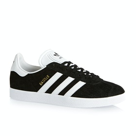 Adidas Originals Gazelle Shoes - Black White Gold