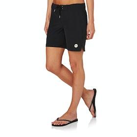 Roxy To Dye 7 Womens Boardshorts - True Black