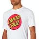 T-Shirt de Manga Curta Santa Cruz Classic Big Dot