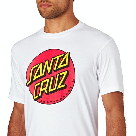 Santa Cruz Classic Big Dot Short Sleeve T-Shirt