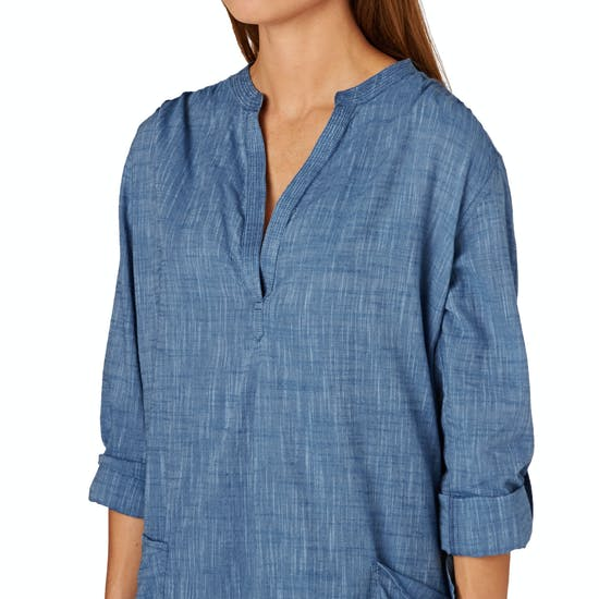Seafolly Ocean Rose Boyfriend Beach Ladies Shirt
