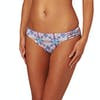 Roxy Printed Strappy Love Reversible foots Bikini Bottoms - Marshmallow Land Of Tehotihuac