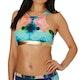 Pieza superior de bikini Roxy Pop Surf Light Neo Crop Top