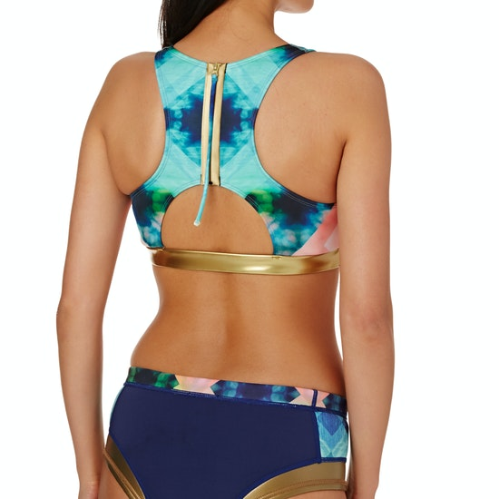Roxy Pop Surf Light Neo Crop Top Bikini Top