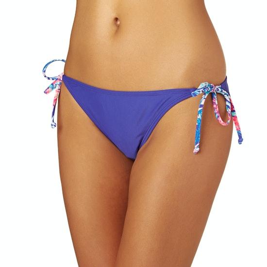 Roxy Mix Adventure Tie Side Scooter Bikini Bottoms