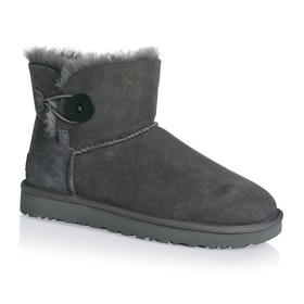 Bottes Femme UGG Mini Bailey Button II - GREY