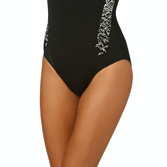 Speedo Boom Splice Muscleback Womens Swimsuit