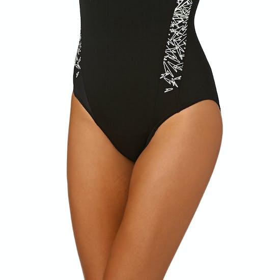 Speedo Boom Splice Muscleback Womens Swimsuit
