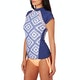 Rip Curl Del Sol Short Sleeve Womens Rash Vest