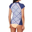 Rip Curl Del Sol Short Sleeve Ladies Rash Vest