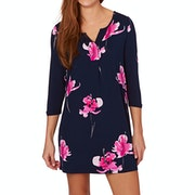 Joules Kimberley Printed Jersey Tunic Dress
