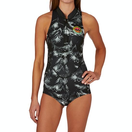 Billabong Surf Capsule 1mm Front Zip Sleeveless Shorty Ladies Wetsuit