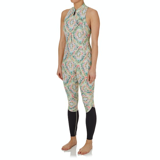 Billabong Surf Capsule Salty Jane 2mm 2017 Front Zip Long Ladies Wetsuit
