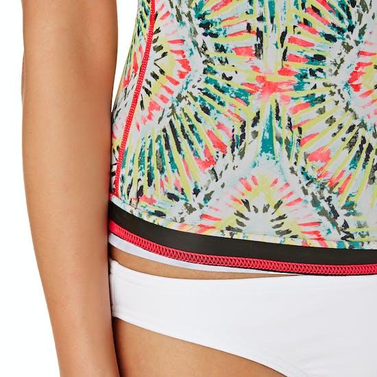 Billabong Surf Capsule Lite Short Sleeve Ladies Rash Vest