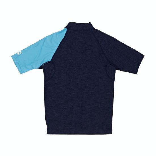 Billabong Contrast Short Sleeve Boys Rash Vest