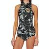 Billabong Surf Capsule Salty Dayz 1mm Front Zip Sleeveless Womens Wetsuit - Black Sands