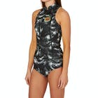 Billabong Surf Capsule Salty Dayz 1mm Front Zip Sleeveless Ladies Wetsuit