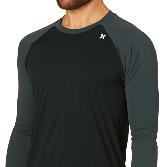 Hurley Wetdry Icon 34 Sleeve Surf T-Shirt