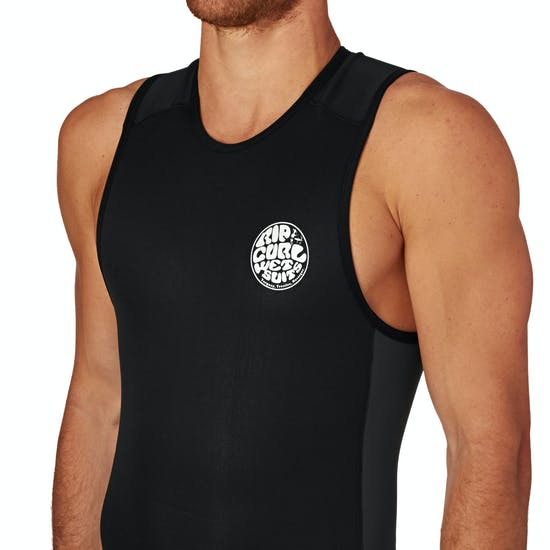 Rip Curl Aggrolite 2mm Back Zip Short John Wetsuit